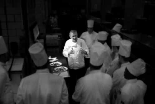 Chef Peter bw